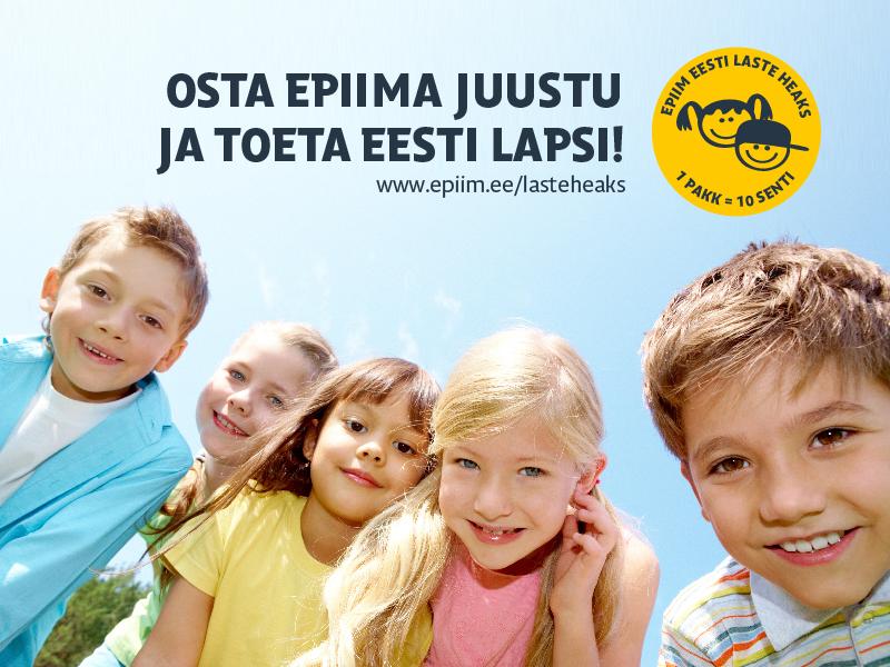 e-piim ja koos laste heaks